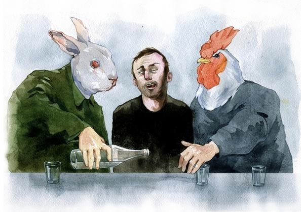 4 dmitriy rebus larin artist The Incredible Watercolor Paintings of Dmitriy Rebus Larin