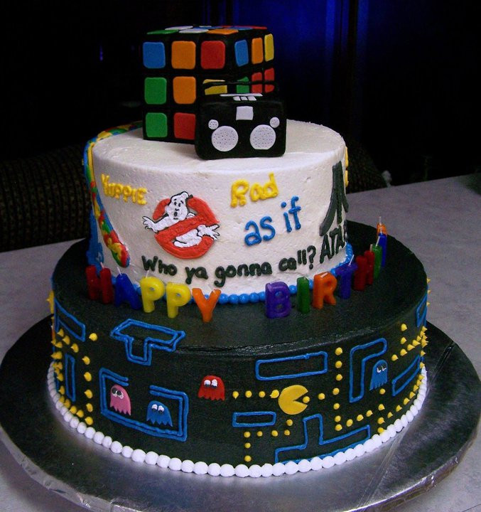 80s birthday cake retro Picture of the Day   September 9, 2010