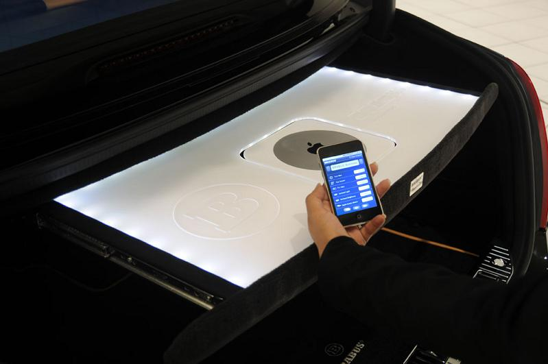 apple controlled car icar iCar: Mercedes S600 Apple Car by Brabus
