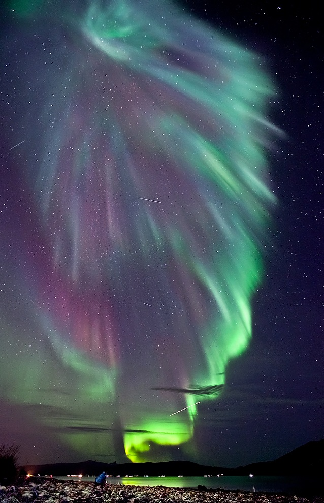 aurora borealis norhtern lights Picture of the Day   September 23, 2010