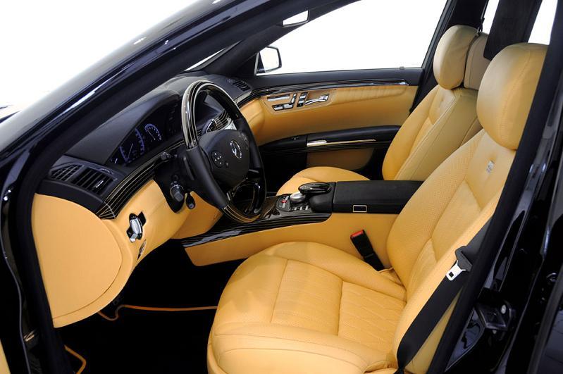 brabus custom benz iCar: Mercedes S600 Apple Car by Brabus