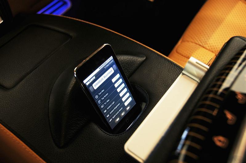 brabus ibusiness mercedes iCar: Mercedes S600 Apple Car by Brabus