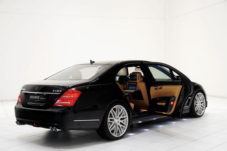 brabus ibusiness iCar: Mercedes S600 Apple Car by Brabus