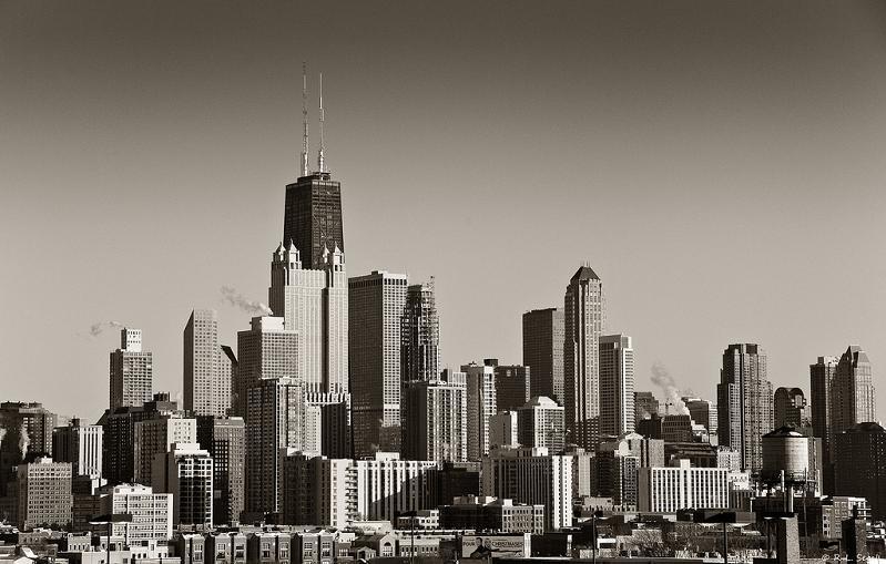chicago skyline 15 Spectacular Skylines Around the World