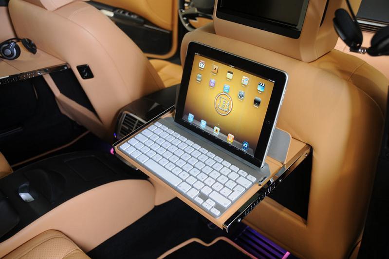 ipad car iCar: Mercedes S600 Apple Car by Brabus
