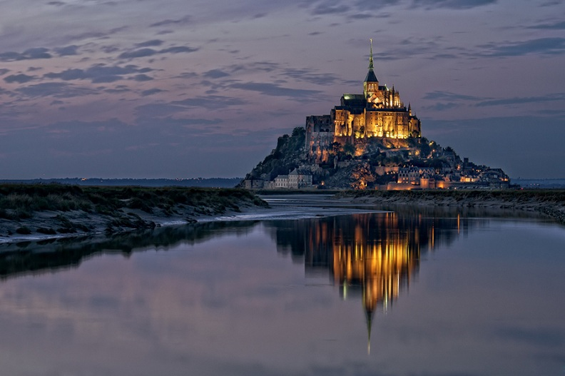 mont saint michel france Picture of the Day   Mont Saint Michel