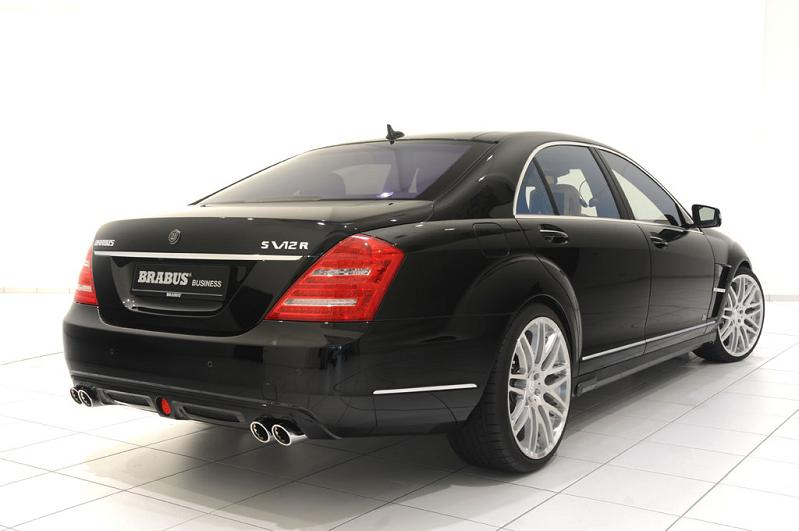 office in a car iCar: Mercedes S600 Apple Car by Brabus