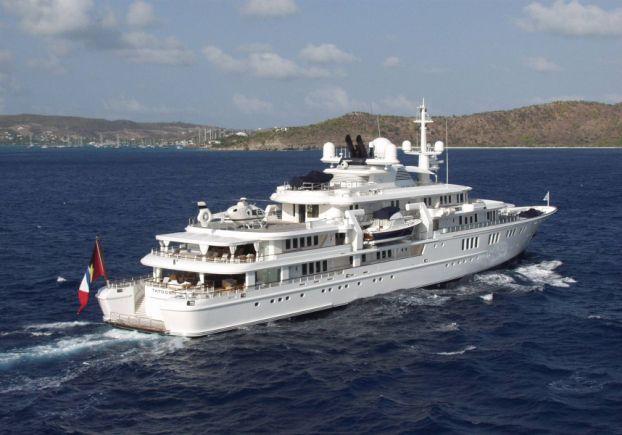 Inside Paul Allen's $160 Million Yacht 'Tatoosh'