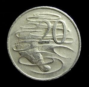 australian 20 cent coin with platypus The Worlds Weirdest Mammal   The Platypus