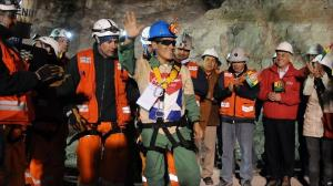 chile miners released bolivian carlos mamani solis first to be released chile miners released bolivian carlos mamani solis first to be released