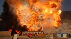 fuel tanker explodes in pakistan fuel tanker explodes in pakistan