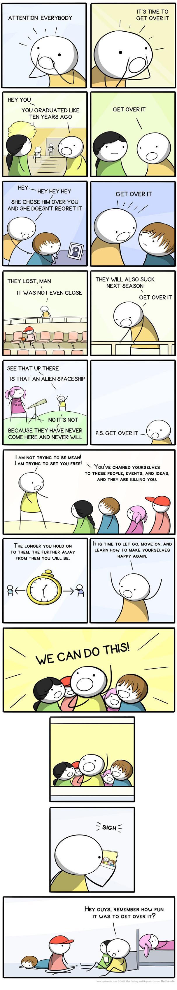 get over it comic Get Over It [Comic Strip]