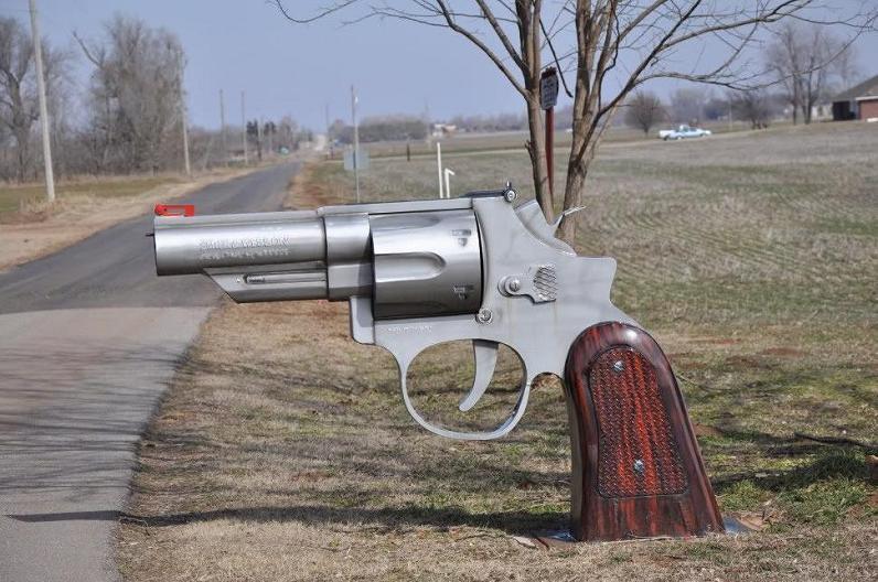 giant gun mailbox The Friday Shirk Report   October 8, 2010 | Volume 78