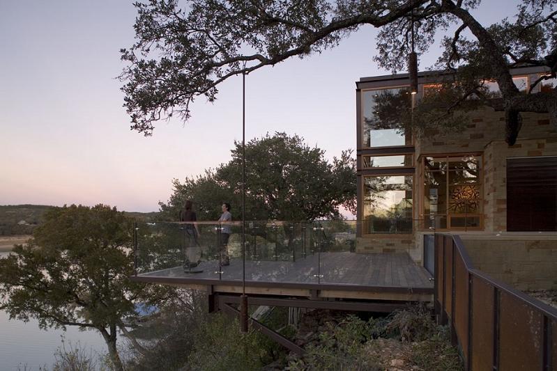 lake travis retreat texas cottage dick clark architecture 3 Lake Travis Retreat   Beautiful Cottage in Texas