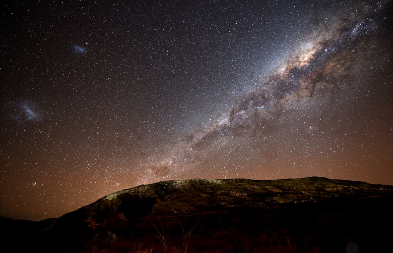 milky way galaxy Picture of the Day   October 17, 2010