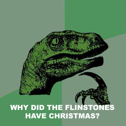 philosoraptor flinstones christmas 20 Burning Questions with the Famous Philosoraptor