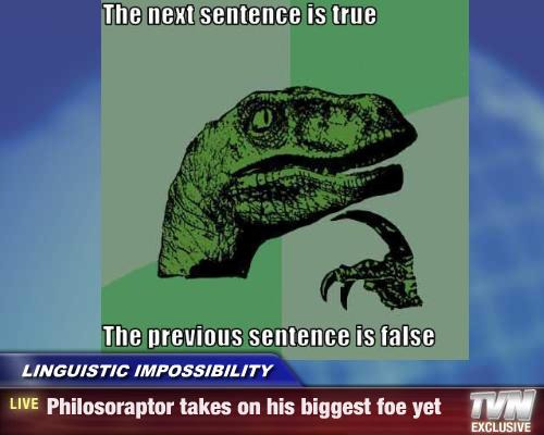 philosoraptor true false 20 Burning Questions with the Famous Philosoraptor