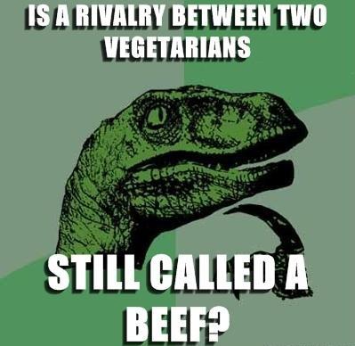 philosoraptor vegetarian beef 20 Burning Questions with the Famous Philosoraptor