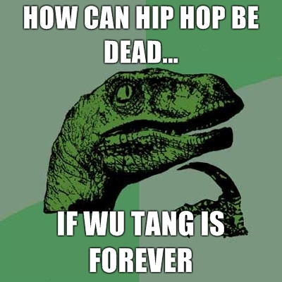 philosoraptor wu tang 20 Burning Questions with the Famous Philosoraptor