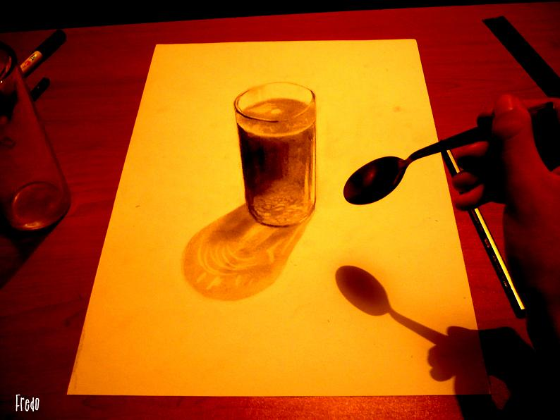 artist fredo 3d drawings illustrations art 11 Unbelievable 3D Drawings by 17 year old Fredo [25 pics]