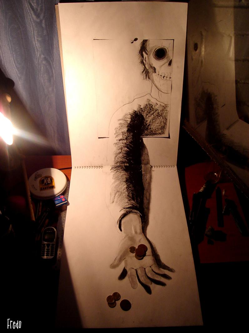 artist fredo 3d drawings illustrations art 23 Unbelievable 3D Drawings by 17 year old Fredo [25 pics]