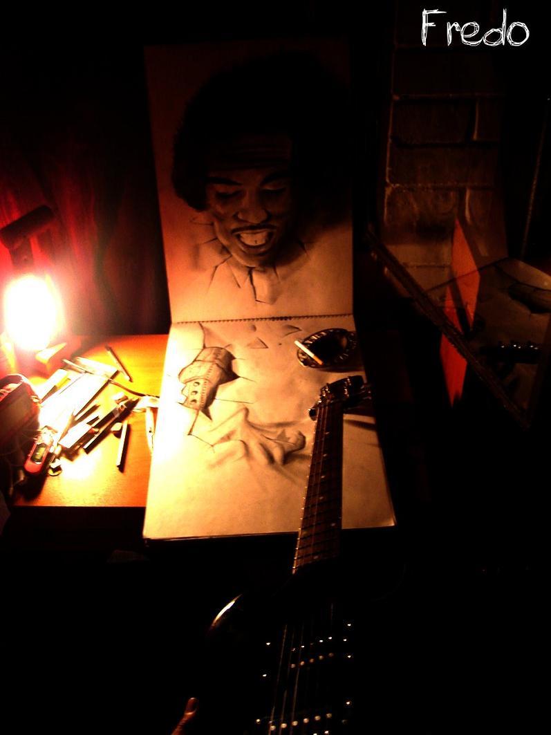 artist fredo 3d drawings illustrations art 9 Unbelievable 3D Drawings by 17 year old Fredo [25 pics]