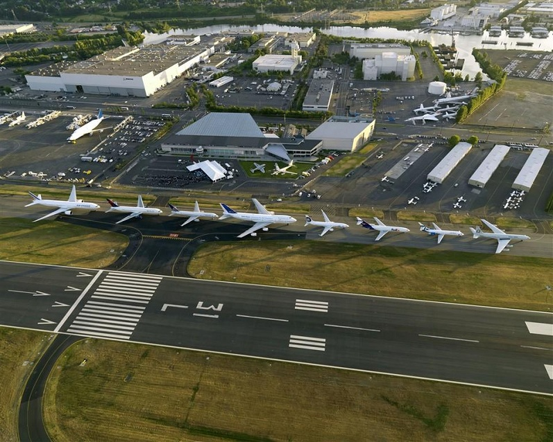 boeing 7 series lineup of planes jets Picture of the Day: Boeing 7 Series Lineup
