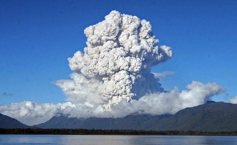 chaiten plume volcano Natures Fury: 30 Chilling Photos of Natural Hazards