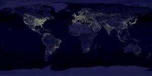 earth globe world at night earth globe world at night