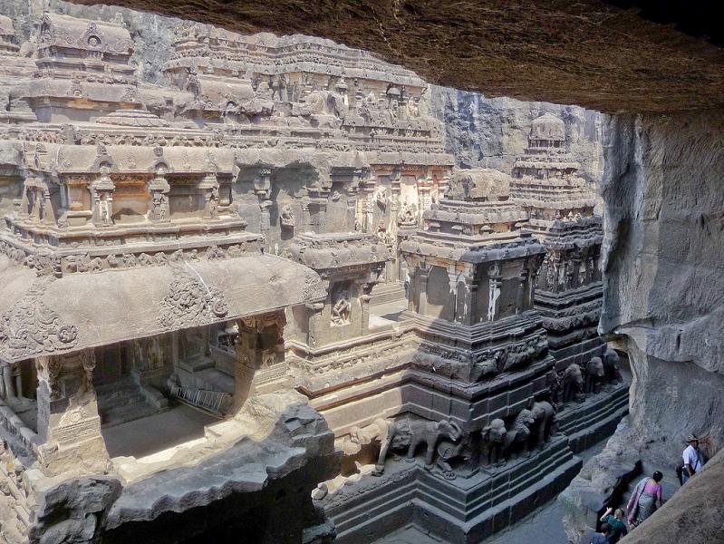 ellora caves india mountain temples 19 The Ellora Caves: Cliff Temples of India [25 pics]