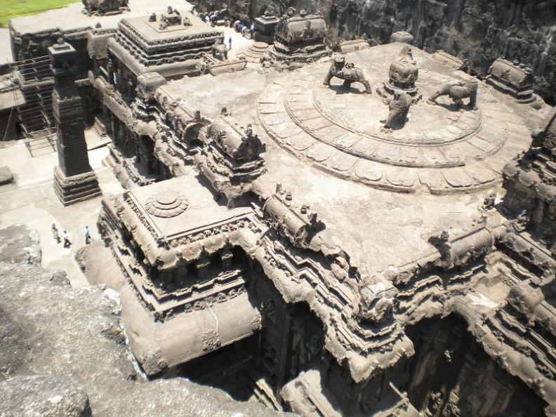 ellora caves india mountain temples 5 The Ellora Caves: Cliff Temples of India [25 pics]