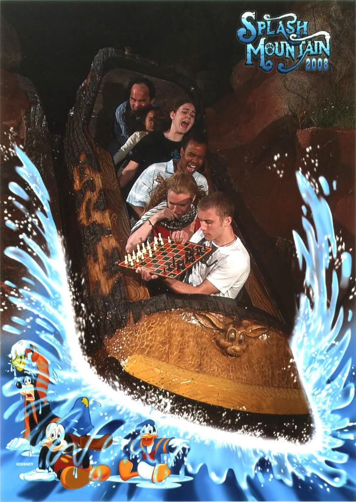 funny splash mountain extreme checkers 21 Hilarious Pics from Disney Worlds Splash Mountain