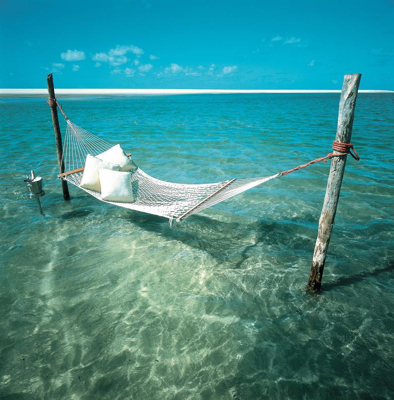 hammock in the water paradise Picture of the Day: Where I Want To Be