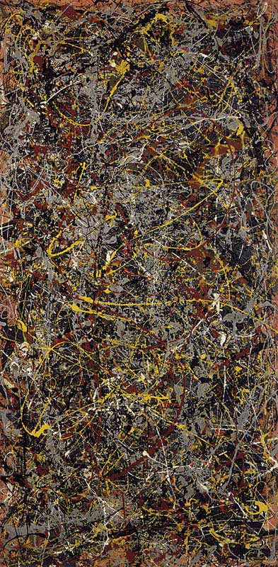 jackson pollock no 5 1948 10 Most Expensive Paintings Sold in the 21st Century