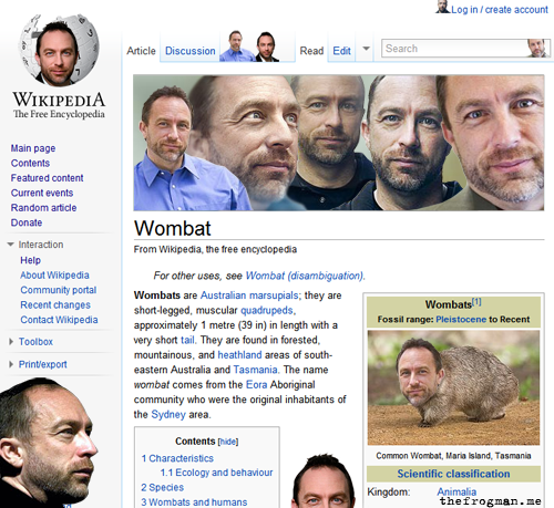 jimmy wales everywhere The Friday Shirk Report   November 26, 2010 | Volume 85