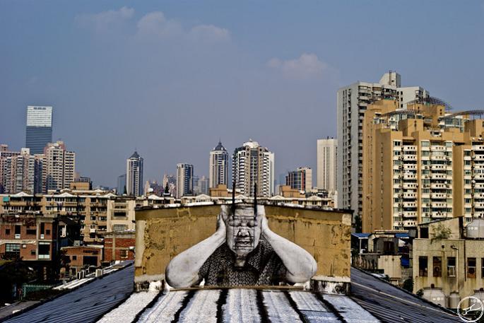jr street art big photographs 2011 ted prize winner 19 2011 TED Prize Winner: Street Artist JR [40 pics]
