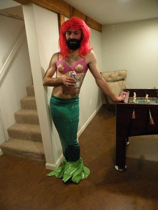 merman funny halloween costume 25 Hilarious Halloween Costumes