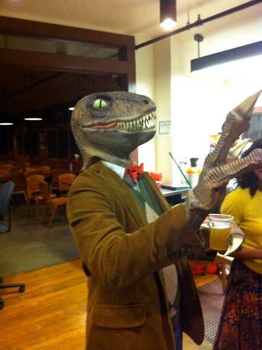 philosoraptor halloween costume 25 Hilarious Halloween Costumes