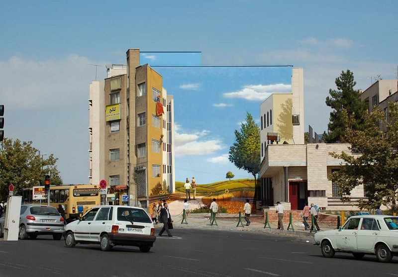 street art in tehran iran 3 Picture of the Day: Street Art in Tehran, Iran