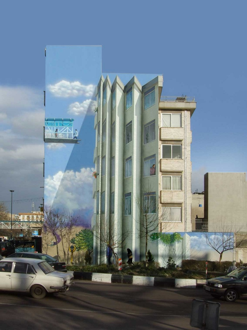 street art in tehran iran Picture of the Day: Street Art in Tehran, Iran