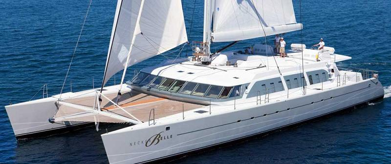 virgin catamaran necker belle 21 Orsos: The Moveable Floating Island