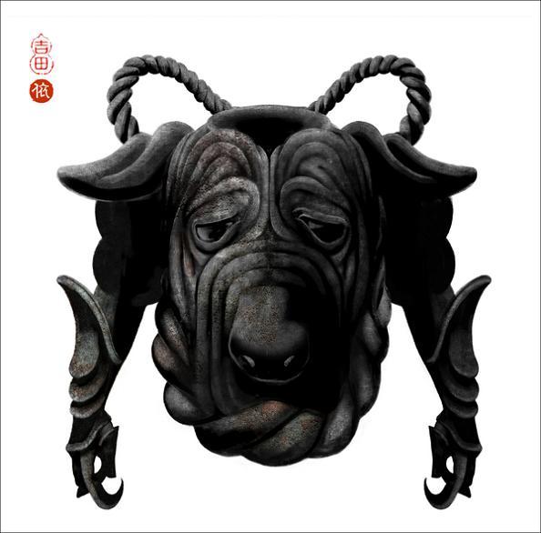 year of the dog Amazing Animal Art of the Chinese Zodiac
