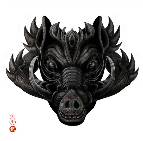 year of the pig Amazing Animal Art of the Chinese Zodiac