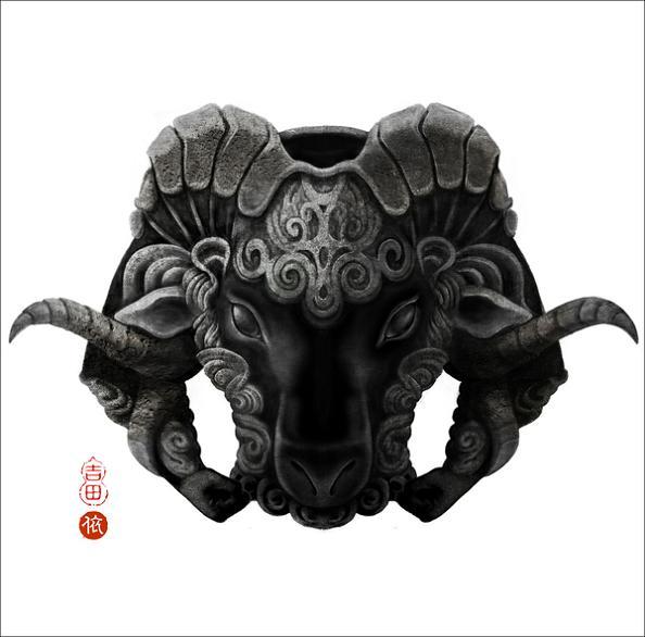 year of the ram Amazing Animal Art of the Chinese Zodiac