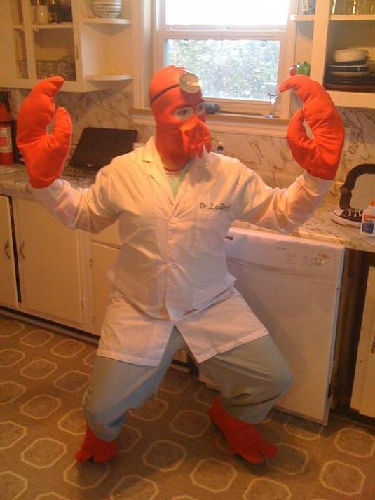 zoidberg funny halloween costume 25 Hilarious Halloween Costumes