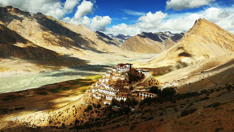 ki gompa buddhist monastery of ki Picture of the Day: Heaven on Earth