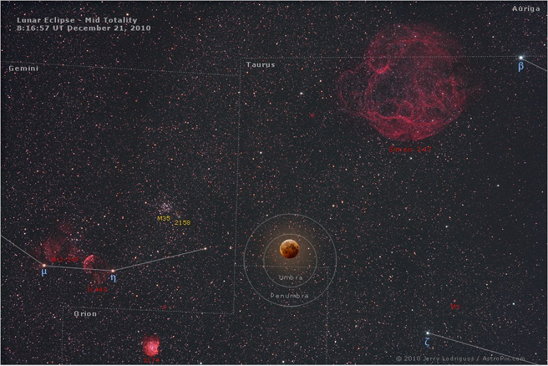 lunar eclipse dec 20 2010 Picture of the Day: Tonights Lunar Eclipse Explained | Dec. 20, 2010
