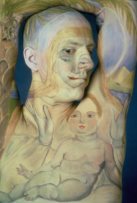 museum anatomy chadwick and spector body painting classic art 14 Museum Anatomy: Body Painting by Chadwick & Spector
