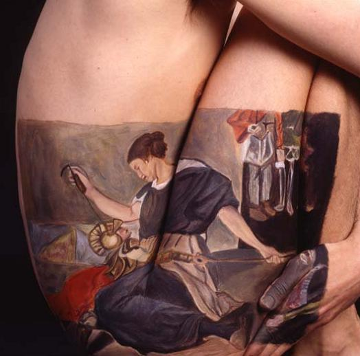 museum anatomy chadwick and spector body painting classic art 16 Museum Anatomy: Body Painting by Chadwick & Spector