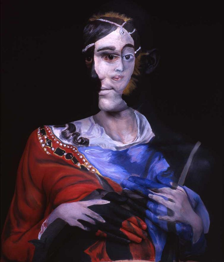 museum anatomy chadwick and spector body painting classic art 23 Museum Anatomy: Body Painting by Chadwick & Spector